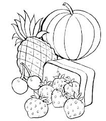 Nutrition Coloring Pages Pdf Health Healthy Food Colorin