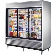 true tsd 69g ld 69 cu ft sliding glass door ss refrigerator