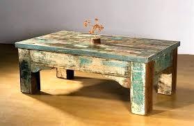emerald home laramie rectangular rustic brown reclaimed wood coffee table square