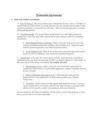Post Marital Agreement Template. Post Nuptial Agreement Sample Fresh ...