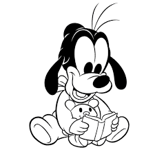 Goofy Coloring Pages On Coloring Page Minnie Mouse Color Design