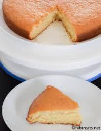 Eggless Vanilla Cake Recipe Without Condensed Milk Fabtreats