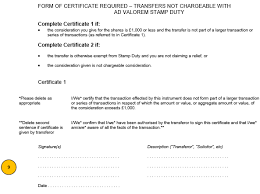 Form Of Share Certificate Stock Transfer Form J30 Template And Guide Inform Direct