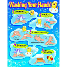 kids washing hands poster.  Kids Trend Enterprises Washing Your Hands Learning Chart T38085 In Kids Poster