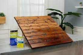 How To Remove Overapplied Deck Stain Dunn Diy