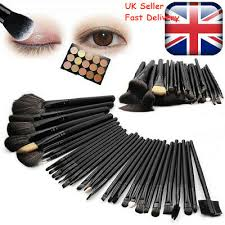 professional 32pcs make up brush set foundation brushes kabuki makeup brushes