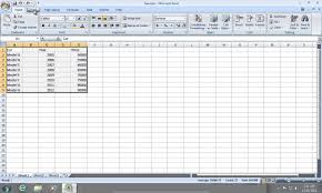 how to create excel 2007 chart with 2 y axis or x axis