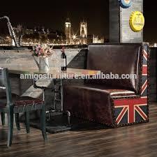 antique restaurant furniture. Plain Furniture Antique Leather Restaurant Corner Booth Furniture Chairs For Antique U