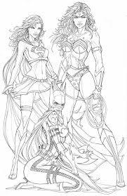Supergirl Wonder Woman And Batgirl Superhero Sip Nd Paint Party