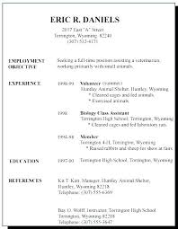 Resume Examples For Any Job Best Of Resumes Examples For Jobs Andaleco