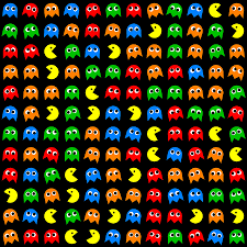 Pac Man Pattern Best Pacman Seamless Generated Pattern Digital Art By Miroslav Nemecek