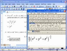 mathtype 6 9 complete feature list