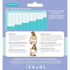 Simple Wishes Pumping Bra Size Chart Lansinoh Simple Wishes Hands Free Pumping Bra Size L