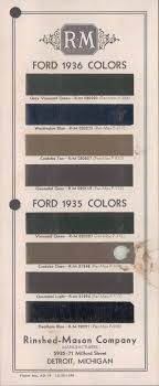 1932 Ford Color Chart Related Keywords Suggestions 1932