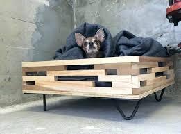 diy raised dog bed raised dog bed photos gallery of raised dog bed with stairs for diy raised dog bed
