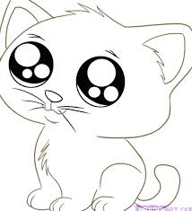 coloring kittens free printable kitten coloring pages for kids best