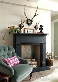 living rooms and room painted fireplace mantels mantel painting brown wood surround grey the paint ideas best