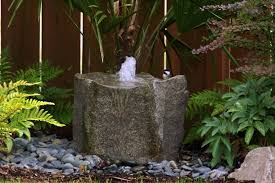 image of backyard drinking fountains