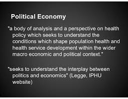 the international political economy of universal health care 4