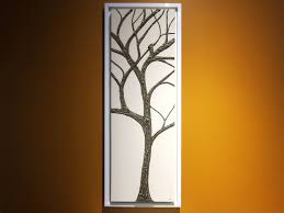 >tall tree of life painting white and dark brown super textured and  tall tree of life painting white and dark brown super textured and detailed branches 3d wall art