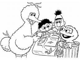 Baby Sesame Street Coloring Pages Top Free Coloring Pages Fo For