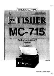 fisher mc 715 service manual immediate background image