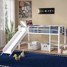 white bedroom furniture for girls. Brilliant Bedroom Loft Bed Frame Set Kids Beds Low Twin Slide Metal White Girls Bedroom  Furniture To For
