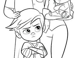 Boss Baby Coloring Pages Free Boss Baby Coloring Pages New Boss Baby
