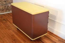 vtg 1940 50s simmons furniture metal medical. Norman Bel Geddes Simmons Industrial Metal Dresser Vtg 1940 50s Furniture Medical