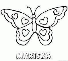 Mariska Naam Kleurplaten