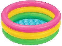 Надувной <b>детский бассейн Intex</b> 57107 61x22 <b>Радуга</b> купить ...