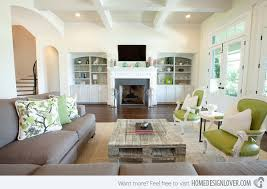 Small Picture 15 Lovely Grey and Green Living Rooms Home Design Lover