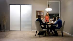 frosted glass interior sliding door