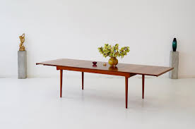 Finn Juhl Extendable Dining Table Teak France Son Denmark 1960s At