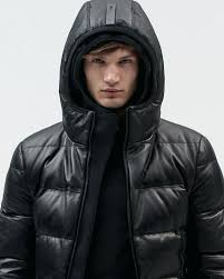 mens puffer jackets leather puffer jacket black mens puffer jackets nz
