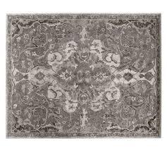 nolan persian rug gray pottery barn