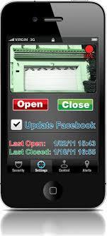open garage door with iphoneThe 5 Features Of A Garage Door Opener iPhone App You Simply Cant