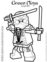 Coloring Pages Lego Ninjago Coloring With Scythe Pages Printable