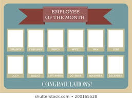 employee of month employee of the month images stock photos vectors