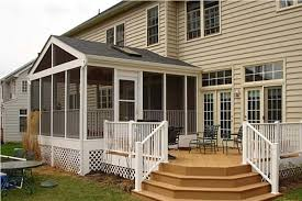 easy large screen porch plans and photos