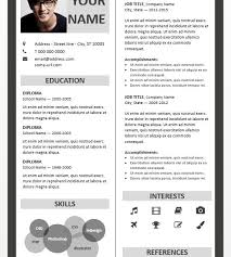 Fitzroy Border Powerpoint Resume Template With Regard To Cv Border Fascinating Resume Powerpoint