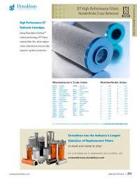 Dt Filter Donaldson Pdf Catalogs Technical