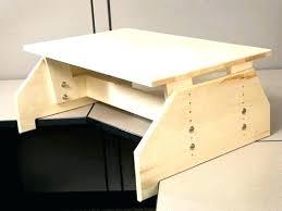 diy standing desk conversion. Delighful Desk Diy Adjustable Standing Desk Converter   And Conversion T