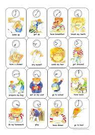 Sequencing Daily Activities Worksheets - Calendar June
