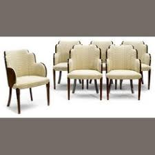 a set of six art deco dining chairs estimate us 2500 3500 art deco dining chairs