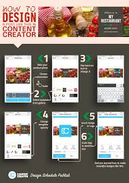 Online Menu Creator How To Design Inviting Posts Like This With Content Creator App