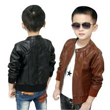 toddler faux leather jacket brand kids jacket and coats boys coats faux leather jackets children fashion