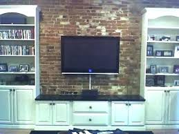 mount tv on brick fireplace mount on brick fireplace hide wires over the fireplace mount creative mount tv on brick fireplace