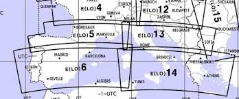 Low Altitude Enroute Chart Europe Lo 5 6 Southern France Spain Portugal Jeppesen E Lo 5 6