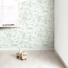 Babykamer Behang Groen Nieuw Hous Grafisch Behang Behang En